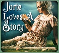 Jorie Loves A Story badge created by Ravven