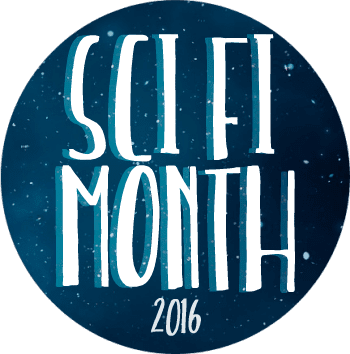Sci Fi Month 2016 badge created by Rinn Reads and used with permission.